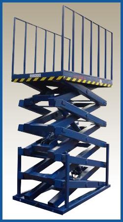 пятиножничный подъемный стол