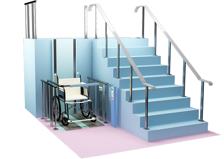 Грузовой подъемник для инвалидов