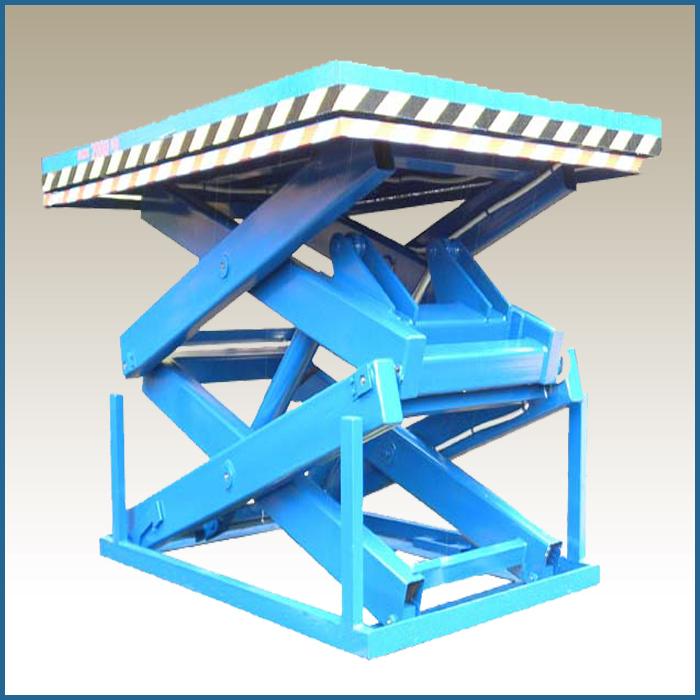 подъемный стол гидравлический стационарный