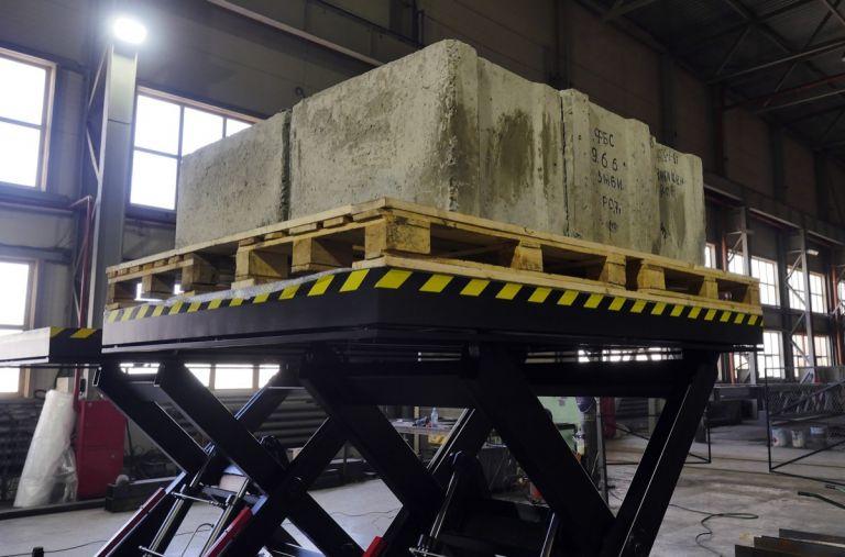 стол подъемный гидравлический на 500 кг