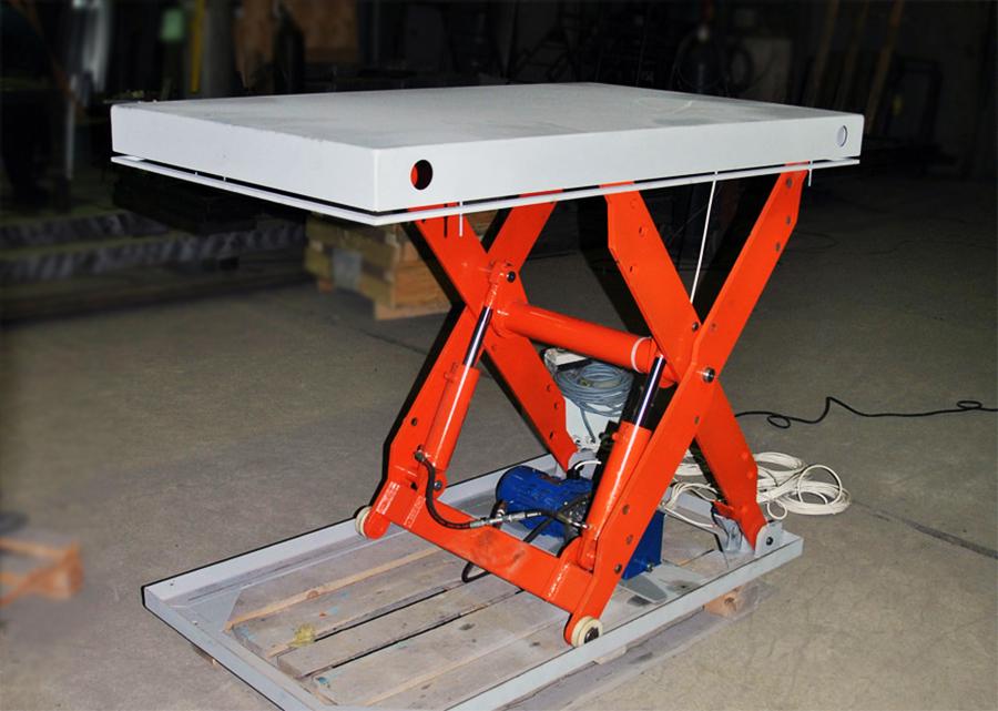 гидравлический подъемный стол СПГ Российское производство