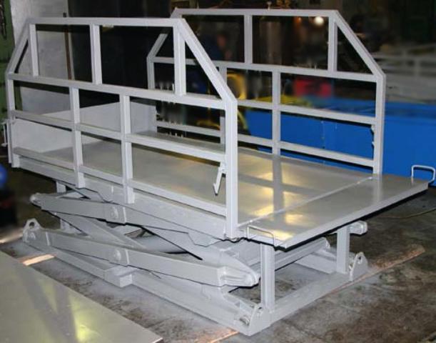 ножничный подъемник грузоподъемностью 5000 кг