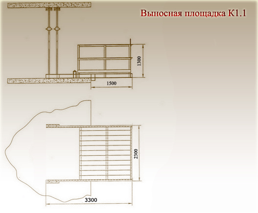 Схема - выносная площадка К1.1