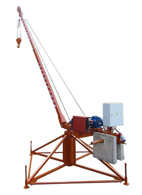 Кран Пионер разборный 500 кг.