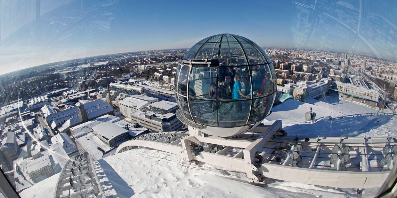 Лифт Skyview (Эрикссон Глоб) Стокгольм, Швеция