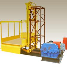 Монтаж грузового подъемника 1500 кг