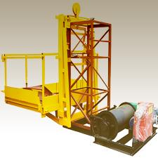 Монтаж мачтового подъемника 2000 кг