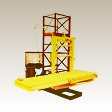 Монтаж мачтового подъемника 750 кг