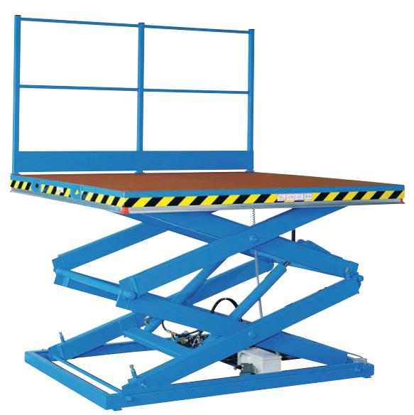 Гидравлический ножничный подъемный стол для склада