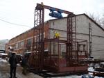 Испытание двухмачтового грузового подъемника 3000 кг
