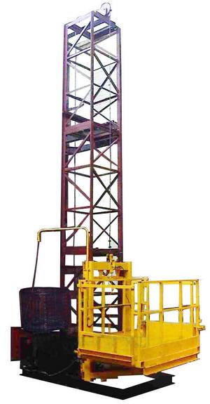 Строительный грузовой подъемник ПМГ г/п 1000кг