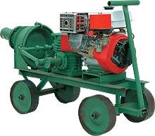 НДНМ-4, насос с бензиновым двигателем