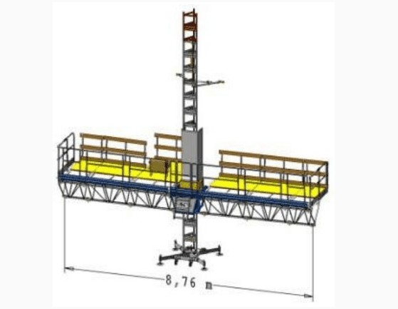 Фасадная платформа Т25 одномачтовая