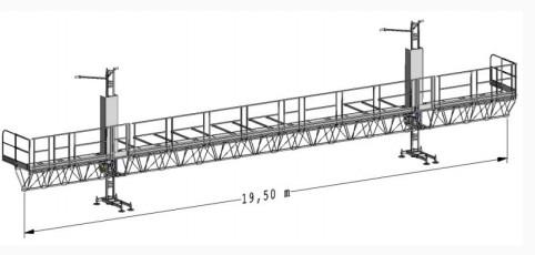 Фасадная платформа Т16 TWIN