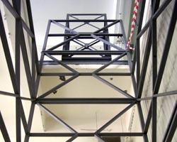 Монтаж металлоконструкций подъемника