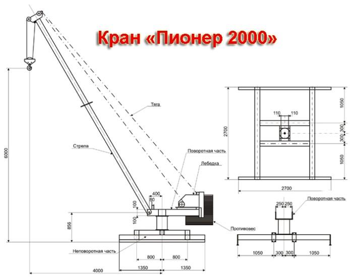 Кран Пионер 2000