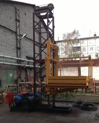 строительный подъемник ПМГ 1500