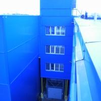 шахтный грузовой лифт