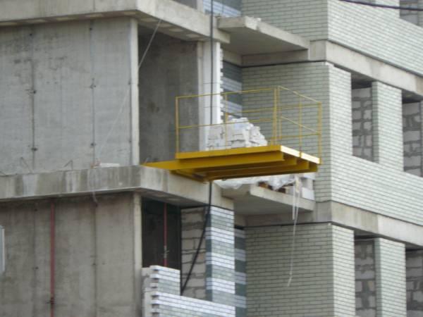 Выносная площадка для приема грузов